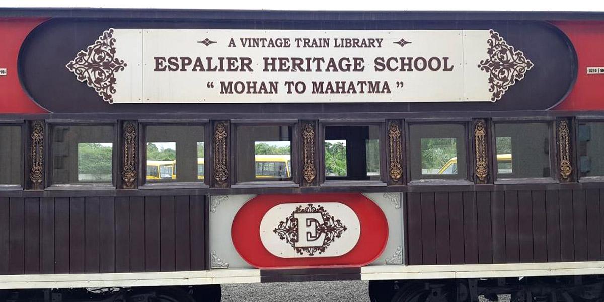 Espalier Vintage Train Library 1